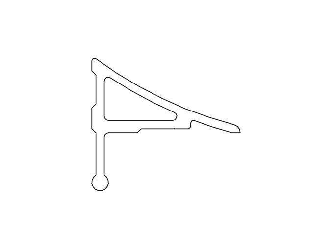 RAVAK SADA 2x roh + 2x záslepka pro lištu 11mm