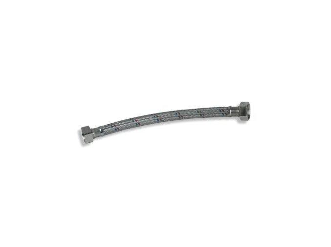"""FH 20-20-080 flexihadice 3/4""""/3/4""""/80cm, závit vnitřní/vnitřní, s nerezovým opletem"""