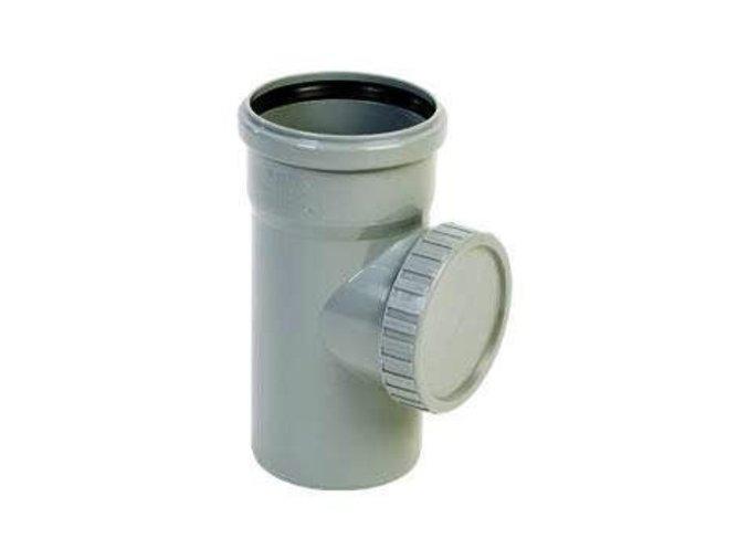 Odpadní HT čistící kus 50mm