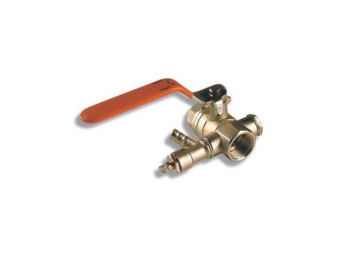 """ARM KKV 368-15 kulový kohout 1/2"""" s vypouštěním"""