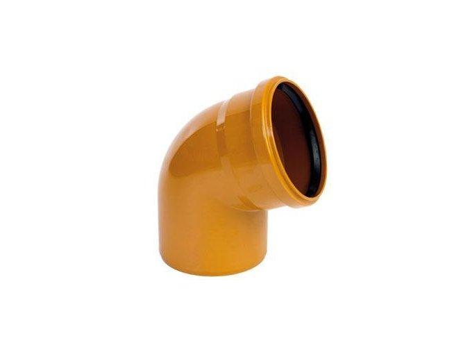 Odpadní KG koleno 125 - 67,5°