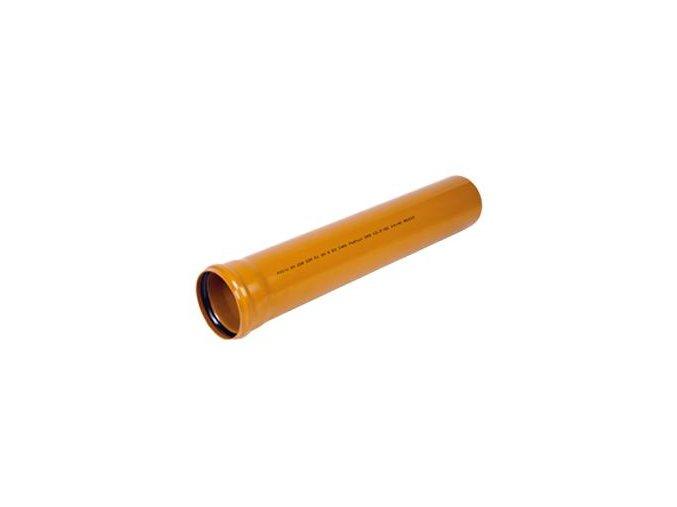Odpadní KG trubka 125 - 2000mm DOPRAVA ZDARMA