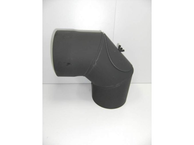 Kouřovodové koleno 130/90° s čistícím otvorem