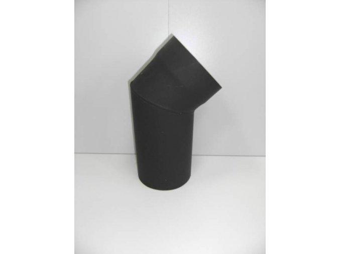 Kouřovodové koleno 160/45° bez čistícího otvoru
