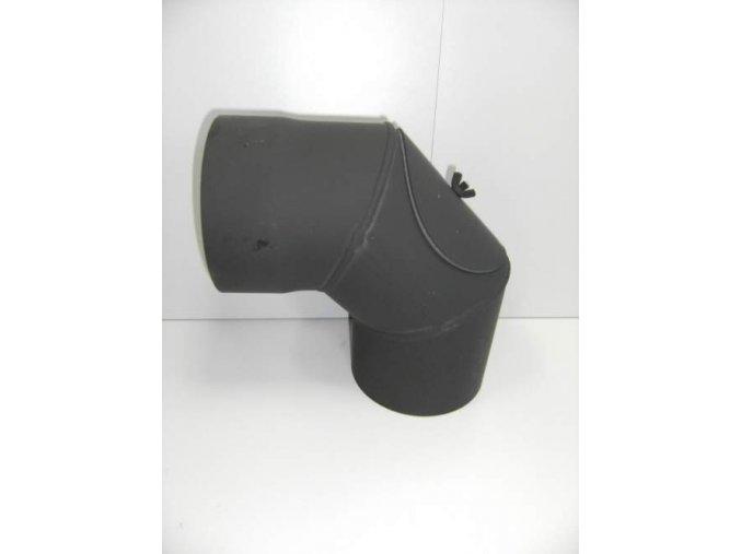 Kouřovodové koleno 180/90° bez čistícího otvoru