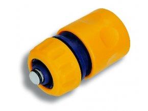 """NOVA DY 8011 plastová rychlospojka 1/2"""" se stop-ventilem"""