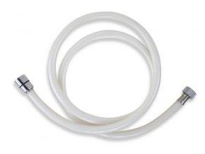 PVC/155.11 levná sprchová hadice bílá