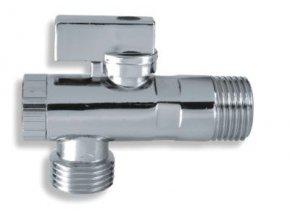 """ARM CF3010/10 rohový ventil 1/2"""" / 3/8"""" s kovovou páčkou a filtrem"""