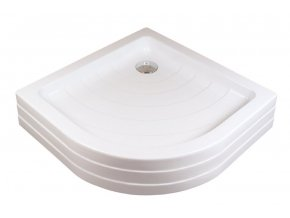RAVAK RONDA 80PU čtvrtkruhová sprchová vanička 80/80cm, akrylát