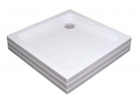 RAVAK ANGELA 90PU čtvercová sprchová vanička 90/90cm, akrylát