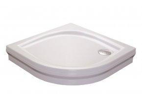 RAVAK ELIPSO 90PAN čtvrtkruhová sprchová vanička 90/90cm, akrylát