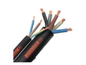 TITANEX H07 RNF 3x1,5mm jednofázový kabel