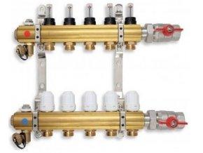 PODL rozdělovač podlahového topení pro 5 okruhů