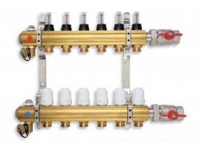 PODL rozdělovač podlahového topení pro 6 okruhů