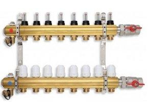 PODL rozdělovač podlahového topení pro 8 okruhů