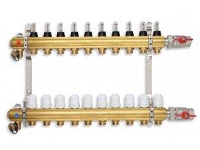 PODL rozdělovač podlahového topení pro 10 okruhů