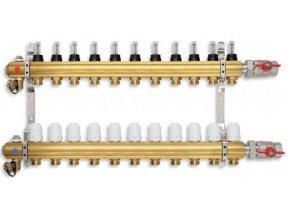 PODL rozdělovač podlahového topení pro 11 okruhů