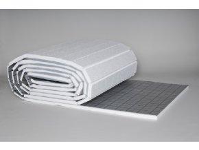 PODL systémová deska pro podlahové vytápění tl. 30mm s hliníkovou fólií.
