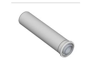 KOUŘ B52101312 koaxiální trubka 80/125/500mm pro odvod spalin kondenzačních kotlů