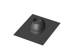 KOUŘ B52107131 universální střešní taška černá 5-25° pro střešní koncovku odvodu spalin kondenzačních kotlů