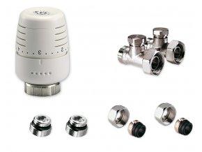 IVAR KITAVK500845 přímý set pro připojení radiátorů VK na potrubí Cu 15mm