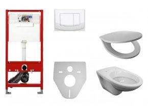 BM SET 0010102 WC závěsné - kompletní set