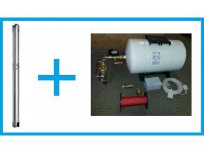 BM SET 0030102 set čerpadla Grundfos SQ2-70 a příslušenství. Pro vrty hluboké max. 40m.