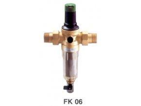 """HNW FK06-1AA filtr na vodu 1"""" s redukčním ventilem"""