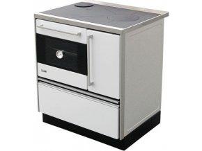 MBS 720 Plus Eco 12020048 kuchyňský sporák s troubou, levý bílý