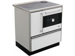 MBS Royal 720 Plus Eco 12020052 kuchyňský sporák s troubou, pravý bílý