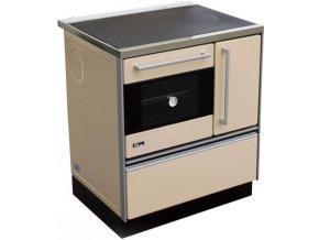 MBS 720 Plus Eco 12023555 kuchyňský sporák s troubou, levý krémový