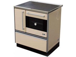 MBS 720 Plus Eco 12023556 kuchyňský sporák s troubou, pravý krémový