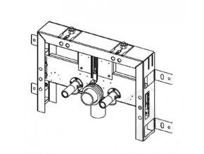 TECEbox 9.370.031 úzká konstrukce pro závěsný bidet, typ pro zazdění