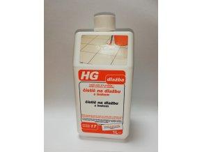 HG čistič na dlažbu s leskem