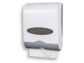 Novaservis 69081,1 zásobník na papírové ručníky, BÍLÝ