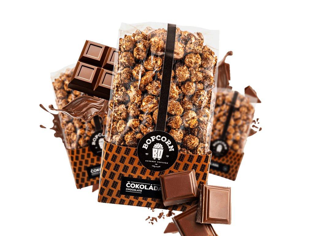 Čokoláda popcorn