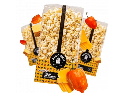Habanero čedar popcorn