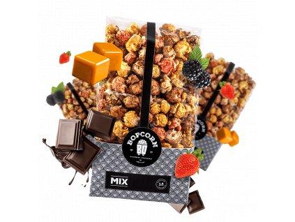 Mix popcorn