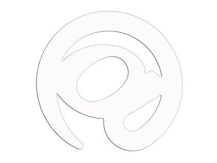 Otvírač dopisů - šedý