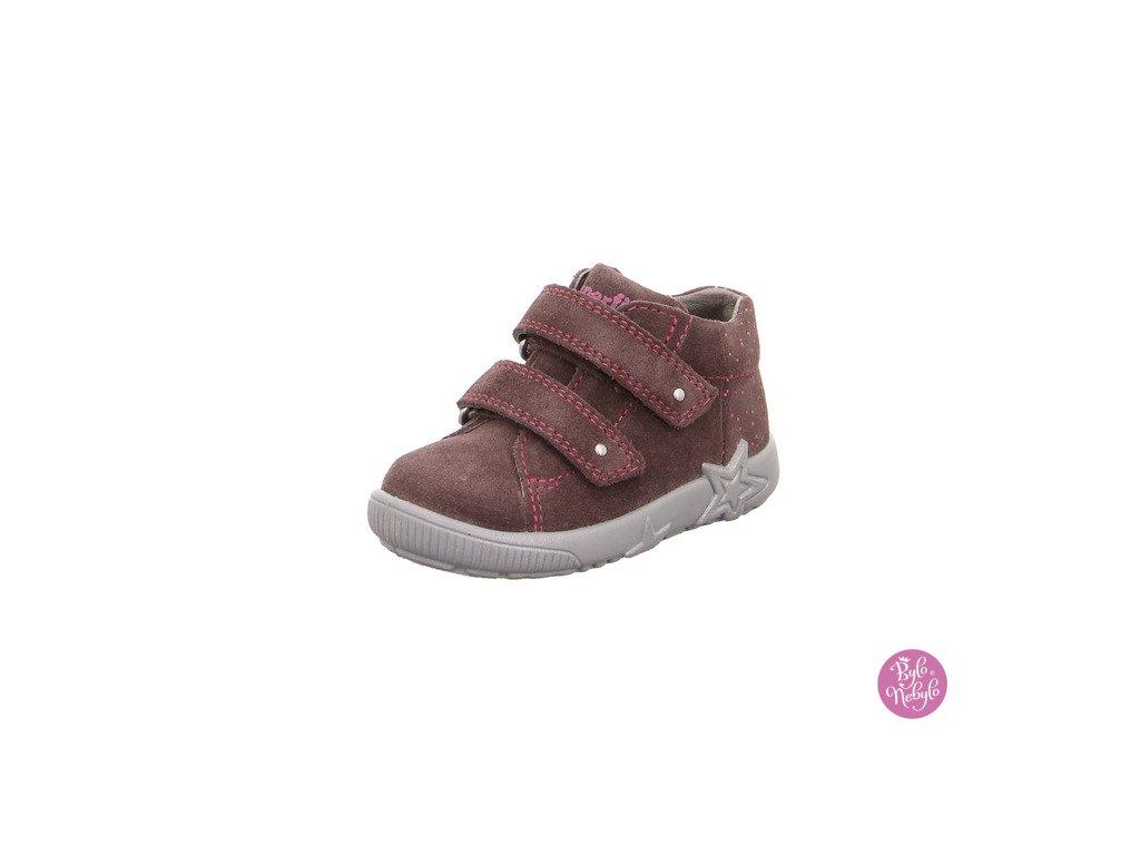 Superfit dětské kožené boty STARLIGHT 5-09436-90