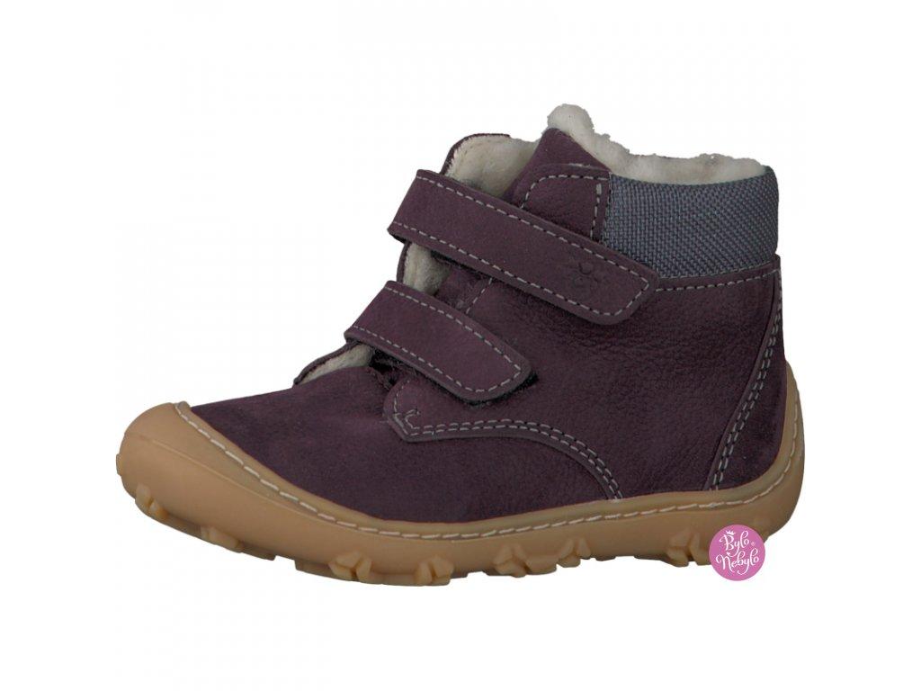 Dětské zimní boty RICOSTA Plum 15305-390