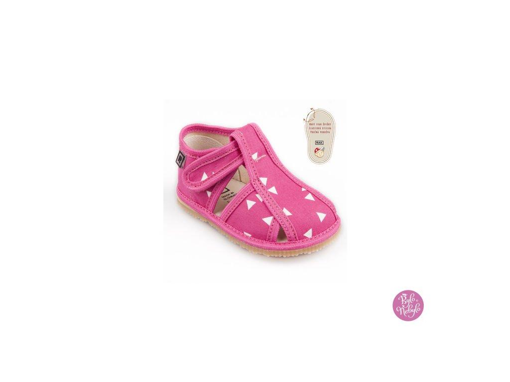papuce ruzovy trojuholnik 1357.thumb 409x369