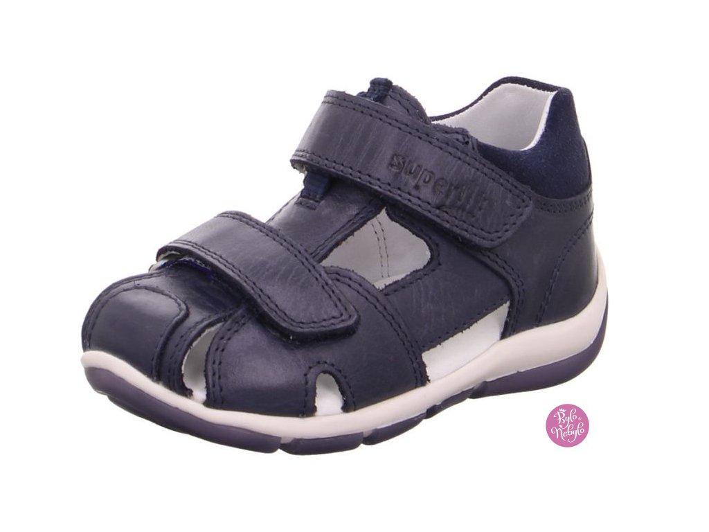 Dětské letní sandálky Freddy 6-09143-80 Tm.Modrá - SUPERFIT
