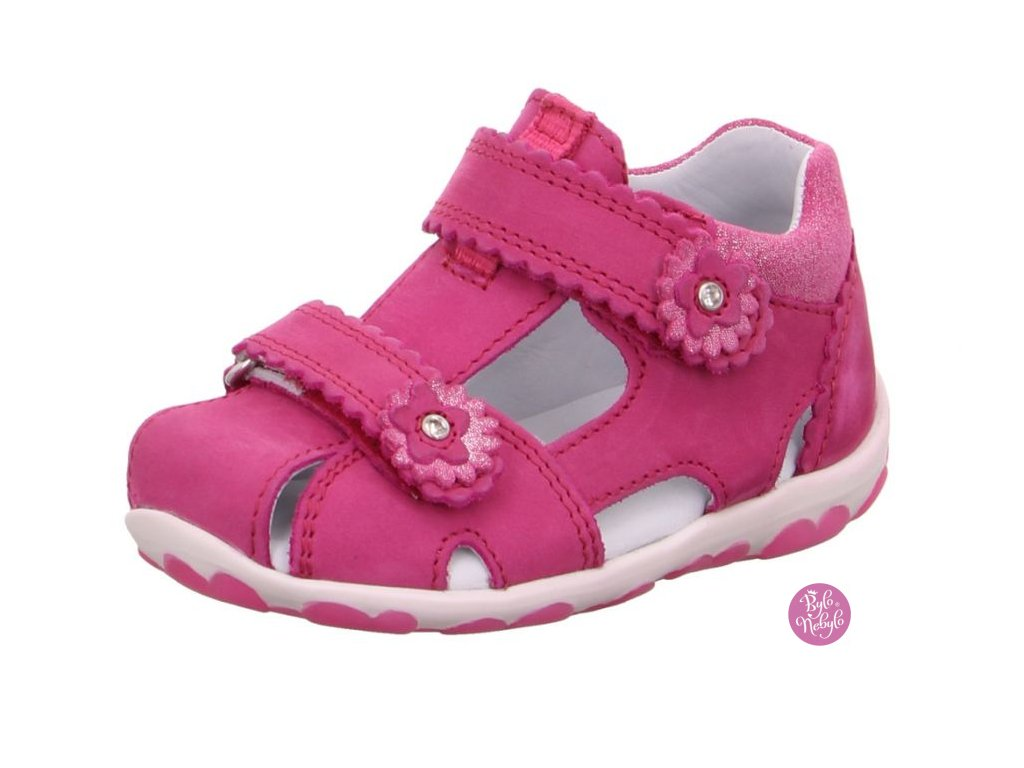 Dětské sandály Superfit 6-09038-55 Velour Rosa