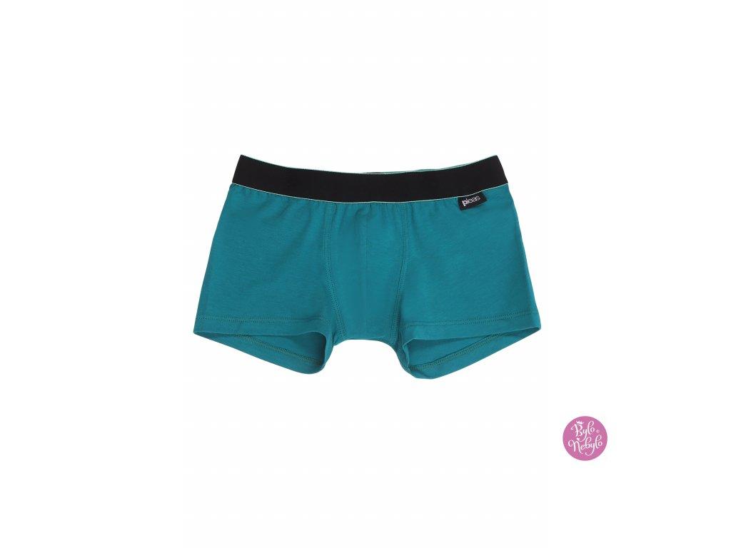 Chlapecké slipy s nohavičkou | Pleas | zelená |