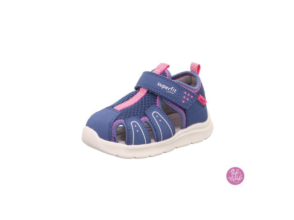 Dětské sandály Superfit Wave 1-000478-8020 Fialová