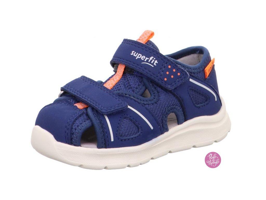Dětské sandály Superfit Wave 1-000479-8010 Modrá