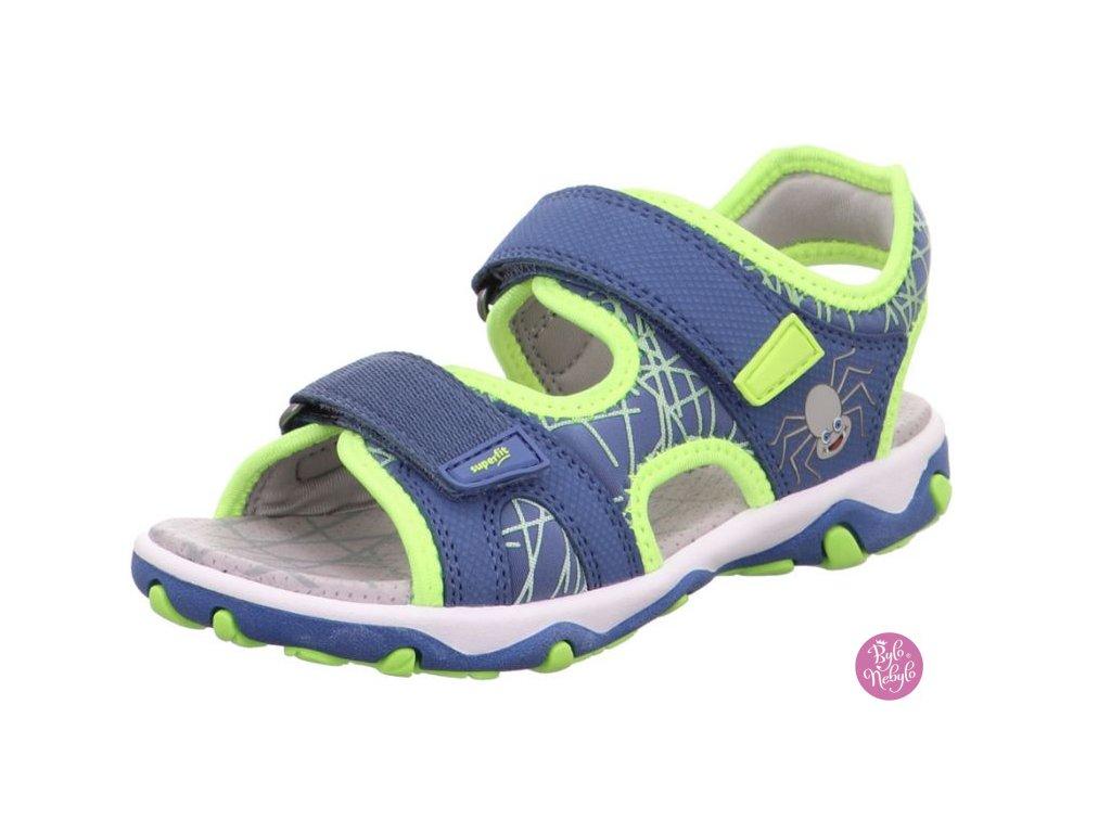 Dětské sandály Superfit Mike 3.0 1-009467-8010 Modrá