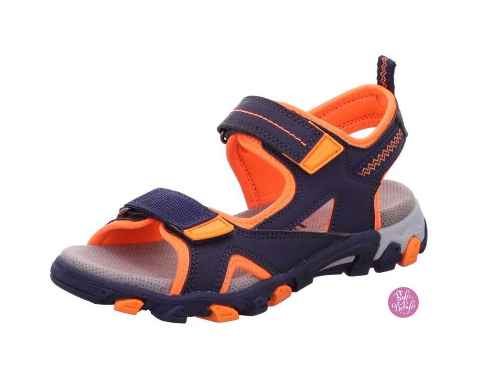 Dětské sandály Superfit HIKE 1-009450-80 Modrá