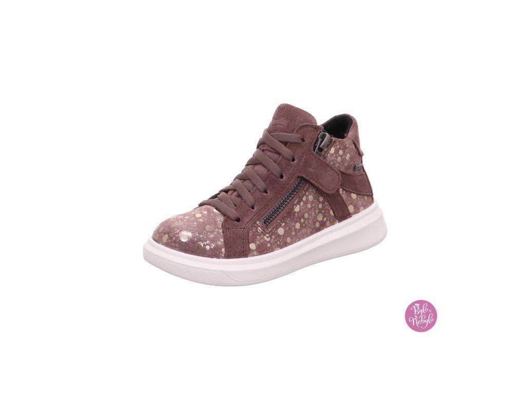 Celoroční dívčí kotníková obuv Superfit 1-006451-8500 s membránou GORE-TEX